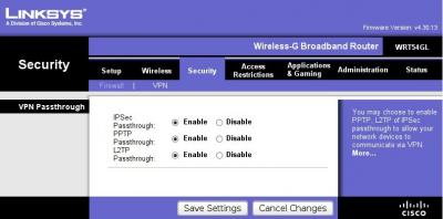 Linksys Vpn